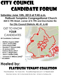 FINAL Candidate Forum flyer