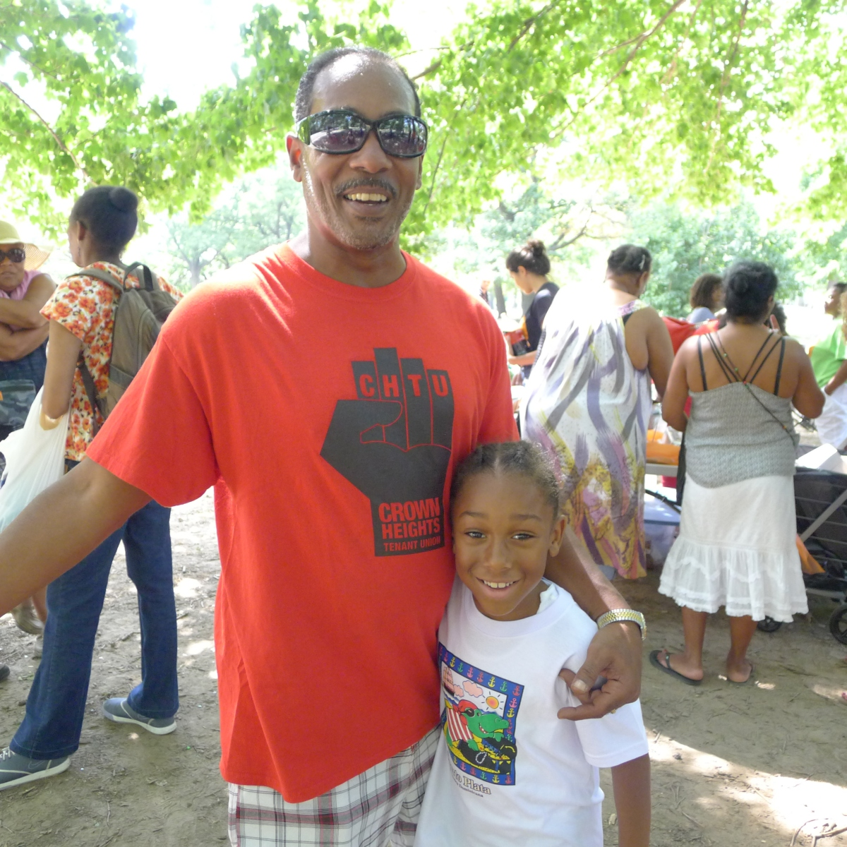 Faces of Flatbush: Tenants, Allies Unite for 2nd Annual Cookout at Prospect Park